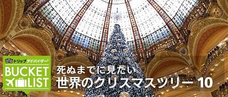 死ぬまでに見たい 世界のクリスマスツリー 10
