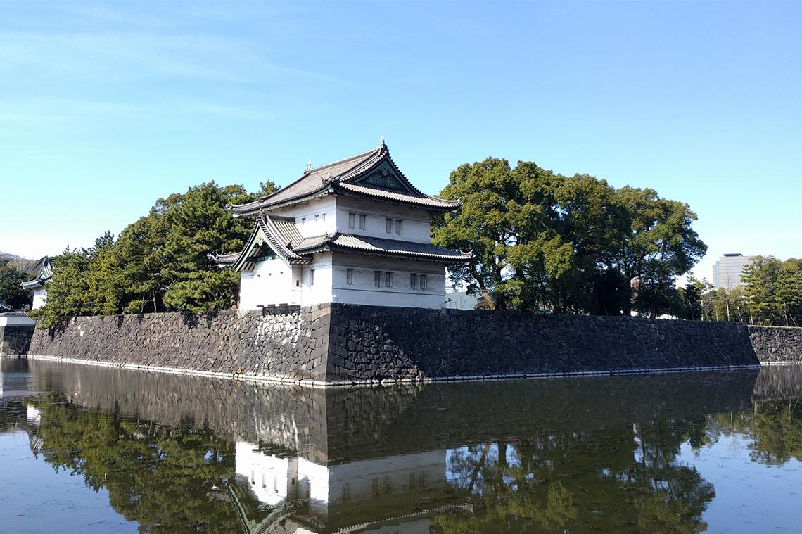 皇居東御苑 (旧江戸城本丸跡)