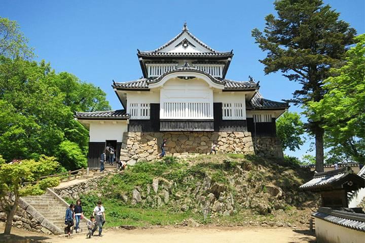 備中松山城の写真