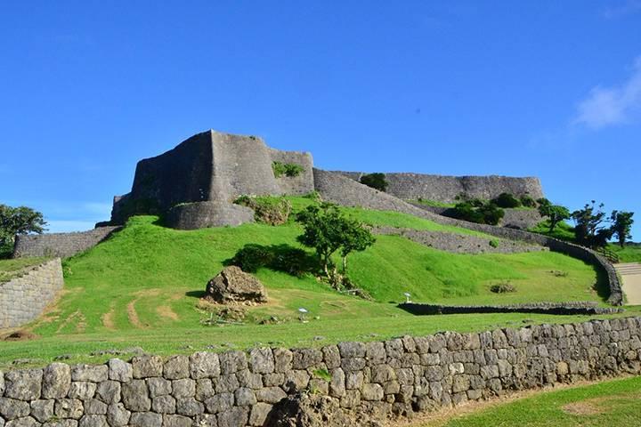 勝連城跡の写真