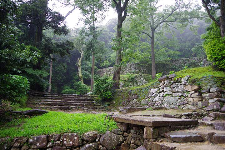 安土城跡の写真