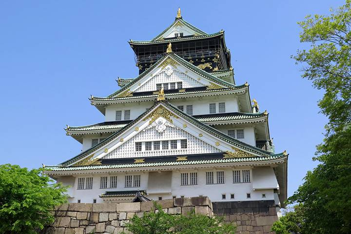 大阪城の写真