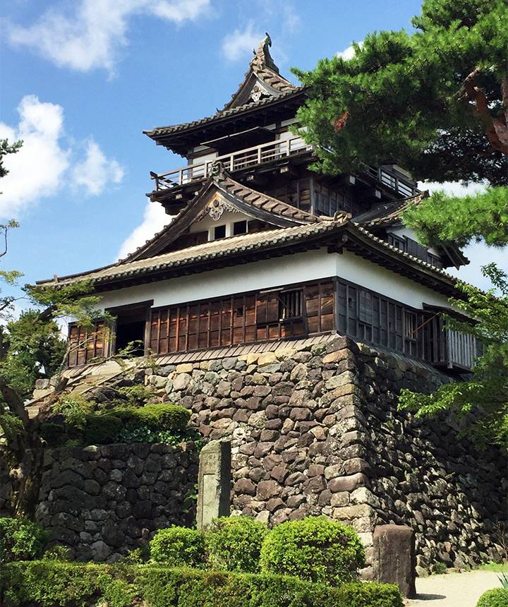 丸岡城の写真