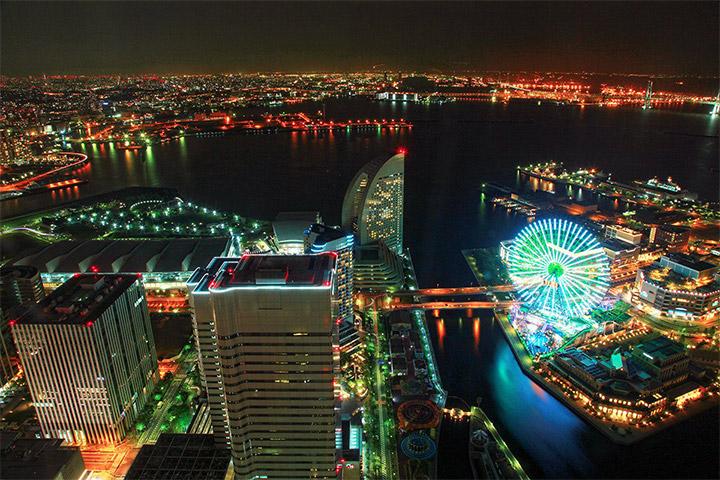 横浜ランドマークタワー 展望フロア スカイガーデン