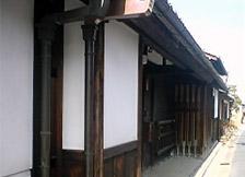 奈良町の町家(ならまち格子の家)