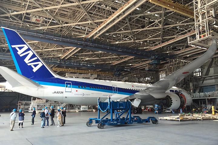 ANA 機体工場見学