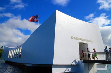 アリゾナ・メモリアル / 第二次世界大戦武勲記念史跡