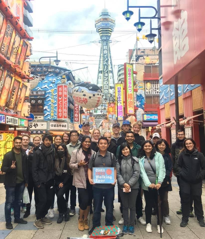 Osaka Free Walking Tour