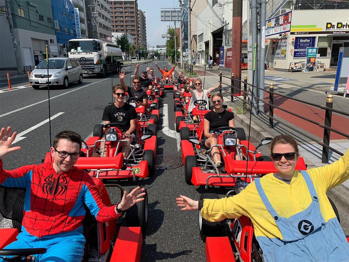 ストリートカート 大阪