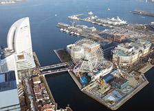 横浜ランドマークタワー 展望台 スカイガーデン