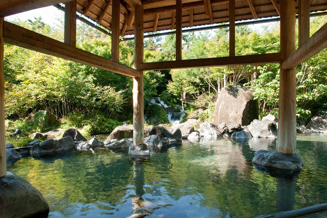 長島温泉 湯あみの島