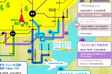 おとくなきっぷで東京近郊大冒険