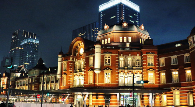 画像:東京駅丸の内駅舎