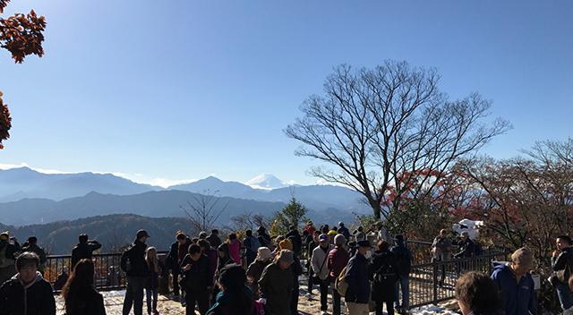 画像:高尾山