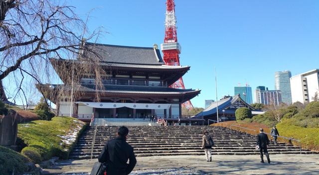 画像:増上寺