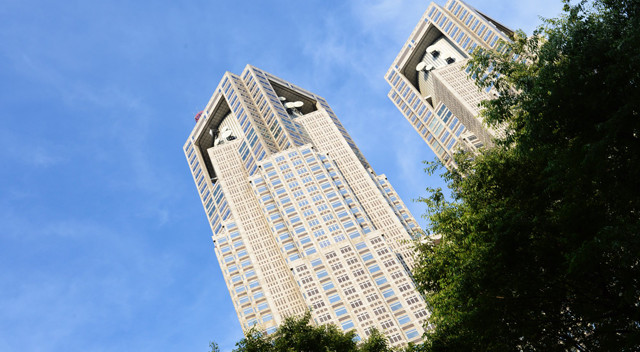 画像:東京都庁舎