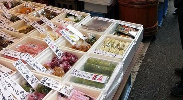 築地外圍海鮮市場